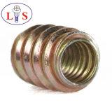 Noix en alliage de zinc de garniture intérieure avec la noix de /Hexagonal de collier