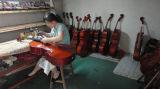 BV/SGS Bescheinigungs-Lieferant---Anfänger-schwarzes Farben-Furnierholz-Praxis-Cello für Kinder