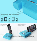 Stand (ID533)를 가진 도매 AC 100-240V 6 Ports USB Cell Phone Charger