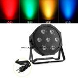 7 Stücke 10W RGBW 4 in 1 Mini-LED-Disco-Ereignis NENNWERT Licht
