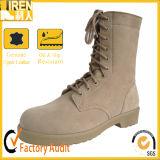 Laarzen van uitstekende kwaliteit van de Woestijn van het Leger van het Leer van het Suède de Militaire