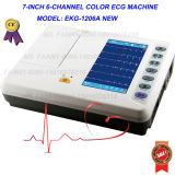 Digital 6-Channel Color ECG EKG (EKG-1206A) - Fanny