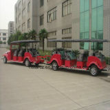 Omnibus de visita turístico de excursión eléctrico de 20 personas con el acoplado Rsd-420y