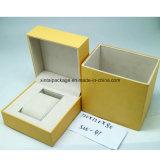 Het plastic Vakje van het Horloge met Document Leatherrete