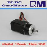 Motor sin cepillo BLDC de NEMA17 60W/1:4 de la relación de transformación de la caja de engranajes