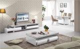 Alto basamento verniciato lucido di vetro TV (DS-2016#)