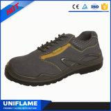 Sapatas de segurança de trabalho Ufa028 do tampão de aço do dedo do pé