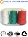 Hilo de coser hecho girar el 100% del poliester para la tela que acolcha