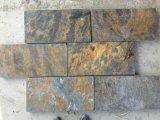 Rostiges Slate Mosaic für Wall Cladding Tile