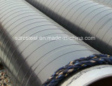 Ligne soudée pipe en acier de spirale d'enduit d'api 3PE Fbe