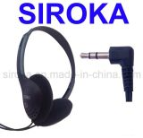 Stretchable StereoHoofdtelefoon van de Oortelefoon met Getelegrafeerde Hoofdtelefoon