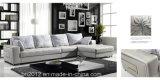 居間の本革のソファー(SBL-9119)