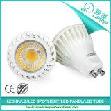 220V 7W MR16 옥수수 속 LED 스포트라이트 온난한 백색