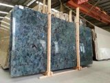 Lemurian Blue Granite Slab для Interior Decoration