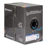 UL, CER, RoHS druckte UTP Lszh CAT6 Netz-Kabel aus