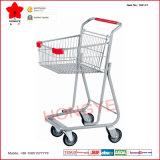 Chariot de bazarette de chariot à achats de panier de treillis métallique (OW-C1)