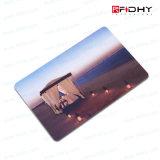 Cartão de microplaqueta opcional do contato CI Memery de Plasitic da impressão de cor Sle5542