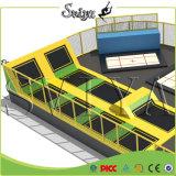 China Supplier Galvanized Pipe Olympic Gymnastique Crane Sports Trampoline