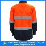 Men를 위한 중국 Manufacture High Quality High Visibility Reflective Work Shirt