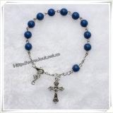 De godsdienst Gekleurde Armband van de Rozentuin van Heilige van het Metaal van Beelden (io-CB138)