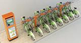 Tipo Bicicleta-Doble público armario de la viga