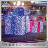 Indicatore luminoso impermeabile della stringa del contenitore di regalo del giardino esterno LED della decorazione di festa