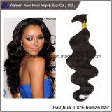 Massa brasiliana dei capelli umani di alta qualità superiore del grado 7A