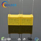 새로운 상자에 의하여 금속을 입히는 폴리프로필렌 필름 축전기 (X2 0.68UF/275V D4)