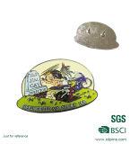 Venda quente emblema preto tingido do Pin do esmalte para o presente (XDBG-01)