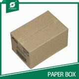 Caixa de transporte ondulada da embalagem do Rsc Kraft