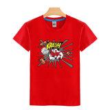 T-shirt en gros fait sur commande de six de couleurs de mode d'impression hommes de coton