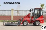 Mower를 가진 Haiqin Brand 세륨 Mini Wheel Loader (HQ908)