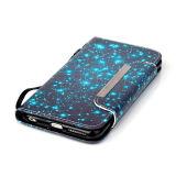iPhoneのための革Case Mobile Phone Flip Cover