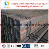 Tubo de acero soldado fabricación del cuadrado del carbón de la alta calidad