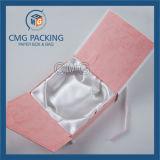 Caixa de papel da jóia branca encantadora elegante (CMG-PJB-026)