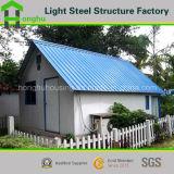 Chalet movible prefabricado de la casa del diseño del suelo prefabricado del doble
