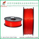 PLA fluorescente 3D Printer Filament Red Color