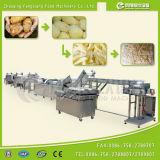 WP1000ポテトのフライドポテト機械、パッキング生産ラインの重量を量る洗浄の皮の切断