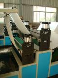 Alta velocità che piega la macchina automatica della carta velina del fronte della macchina del fazzoletto per il trucco