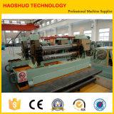 Enroulement en acier de qualité fendant la machine de rebobinage