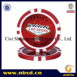 11.5g Poker Chip met Custom Stickers (sy-D17G)