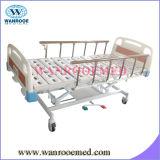 患者のための2つのクランクの油圧ベッド