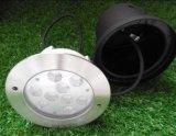 Acero inoxidable 27W RGB LED de luz en la tierra (JP82694)