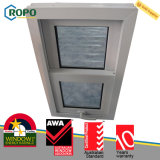 Doble diseño colgado doble plástico Tempered de la vidriera UPVC Windows