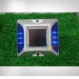 Vite prigioniera solare chiara infiammante blu della strada dell'occhio di gatto del giardino del LED