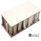 Comitato di alluminio personalizzato del favo di colore del marmo di disegno