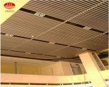 Потолок алюминия металла деревянного Veneer зерна декоративный