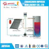 2016 unter Druck gesetzter aufgeteilter aktiver Wärme-Rohr-Solarwarmwasserbereiter