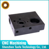POM、ナイロン/ ABS /デルリンプラスチック製CNC機械加工黒いプラスチックパーツ