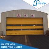 Porte industrielle de roulement rapide à grande vitesse matériel de PVC